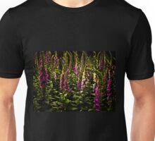 Forest of summer foxgloves. Unisex T-Shirt