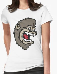 Monkeying Around. Womens Fitted T-Shirt
