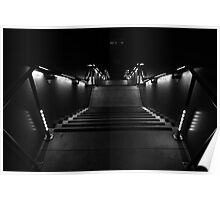 STAIRWAY INTO DARKNESS Poster