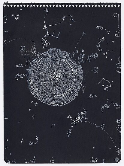 Idéés Blanches - White Ideas #10 - Mental Constellations #5 by Pascale Baud
