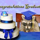 Congratulations Graduate Raccoon by jkartlife