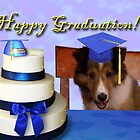 Graduation Sheltie Puppy by jkartlife