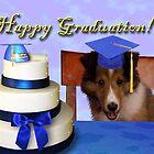 Graduation Sheltie Puppy by jkartlife