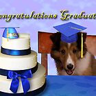 Congratulations Graduate Sheltie Puppy by jkartlife
