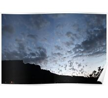 Cape Town's Table Mountain Poster