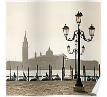 Sunny Morning at San Marco Poster