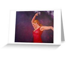 Flamenco 8 Greeting Card