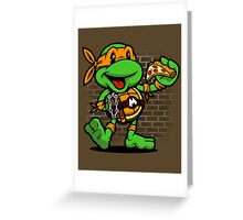 Vintage Michelangelo Greeting Card