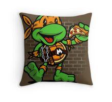Vintage Michelangelo Throw Pillow