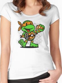 Vintage Michelangelo Women's Fitted Scoop T-Shirt