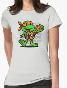 Vintage Michelangelo Womens Fitted T-Shirt