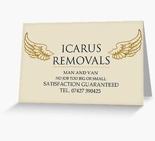 """""""Do You Remember What Happened To Icarus?"""" Greeting Card"""
