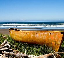 Old Beached boat by mcdesign