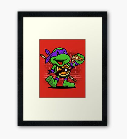 Vintage Donatello Framed Print