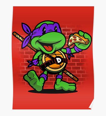 Vintage Donatello Poster