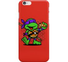 Vintage Donatello iPhone Case/Skin