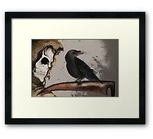 It's a Grim World Framed Print