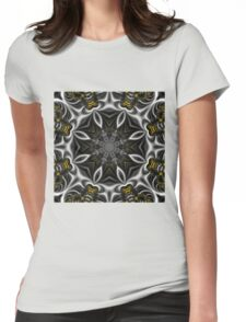 Gothic fractal Womens Fitted T-Shirt