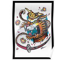 Tiger Samurai Poster
