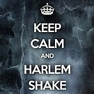 Keep Calm and Harlem Shake by Barbo
