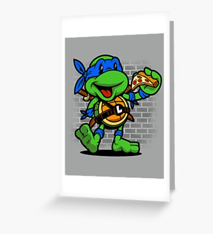 Vintage Leonardo Greeting Card