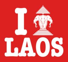 I Erawan (Love) Laos by iloveisaan