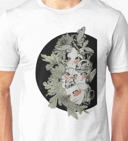 Faced Unisex T-Shirt