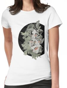 Faced Womens Fitted T-Shirt