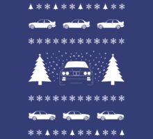 Ugly Christmas Sweater Featuring the BMW M3 (E30) by ApexFibers