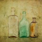 Old Bottles by Barbara Ingersoll