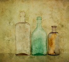 Three Bottles Gold by Barbara Ingersoll