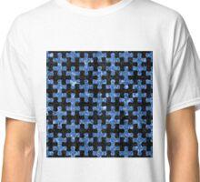 PUZ1 BK-BL MARBLE Classic T-Shirt