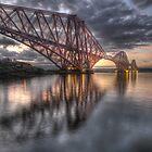 Forth Rail Bridge by jim sloan
