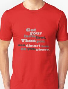 Get your facts. T-Shirt