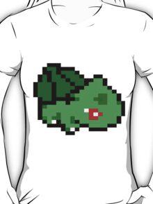 8 Bit Bulbasaur  T-Shirt