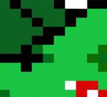 8 Bit Bulbasaur  Sticker