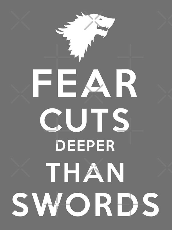 Fear Cuts Deeper Than Swords by Nana Leonti