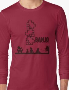 Banjo Unchained (Prints/Posters, and Shirt) Long Sleeve T-Shirt