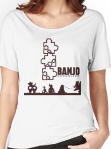 Banjo Unchained (Prints/Posters, and Shirt) Women's Relaxed Fit T-Shirt