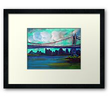Triborough Bridge Framed Print