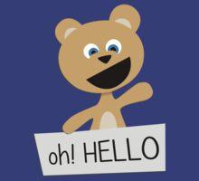 Roar says HELLO! by Stigur