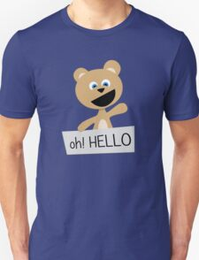 Roar says HELLO! Unisex T-Shirt