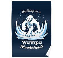 Snow Creature Wonderland Poster