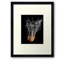 Falling Nemo Framed Print
