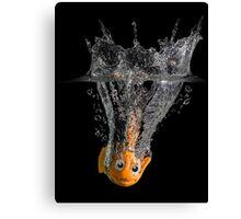 Falling Nemo Canvas Print
