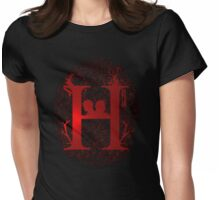 H Womens Fitted T-Shirt
