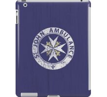 St. John Ambulance, distressed iPad Case/Skin