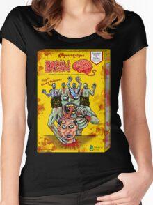 Killyous & Eatyous Brain O's Women's Fitted Scoop T-Shirt