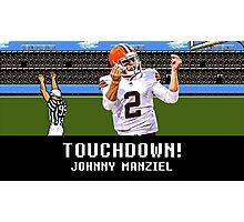 Tecmo Bowl Touchdown Johnny Manziel Photographic Print