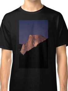 Half Dome At Sunset Classic T-Shirt
